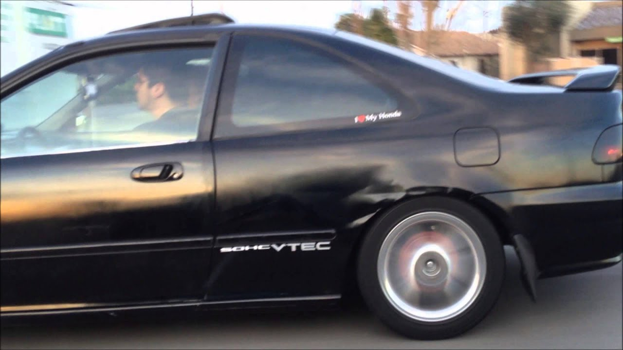 1994 Honda Civic EJ1 on Highway 99! - YouTube