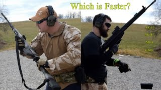 Which is Faster? AR-15? AK-47? Other?
