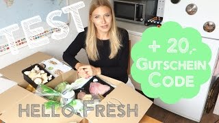Test Hello Fresh +Review, Unboxing (deutsch) + 20€ Rabattcode