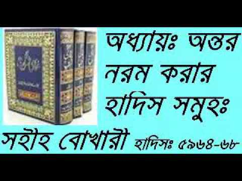 Bangla Waz Mahfil New Ontor Norom Korar Hadis Shomoho Bukhari Chapter-81 Part-01 video