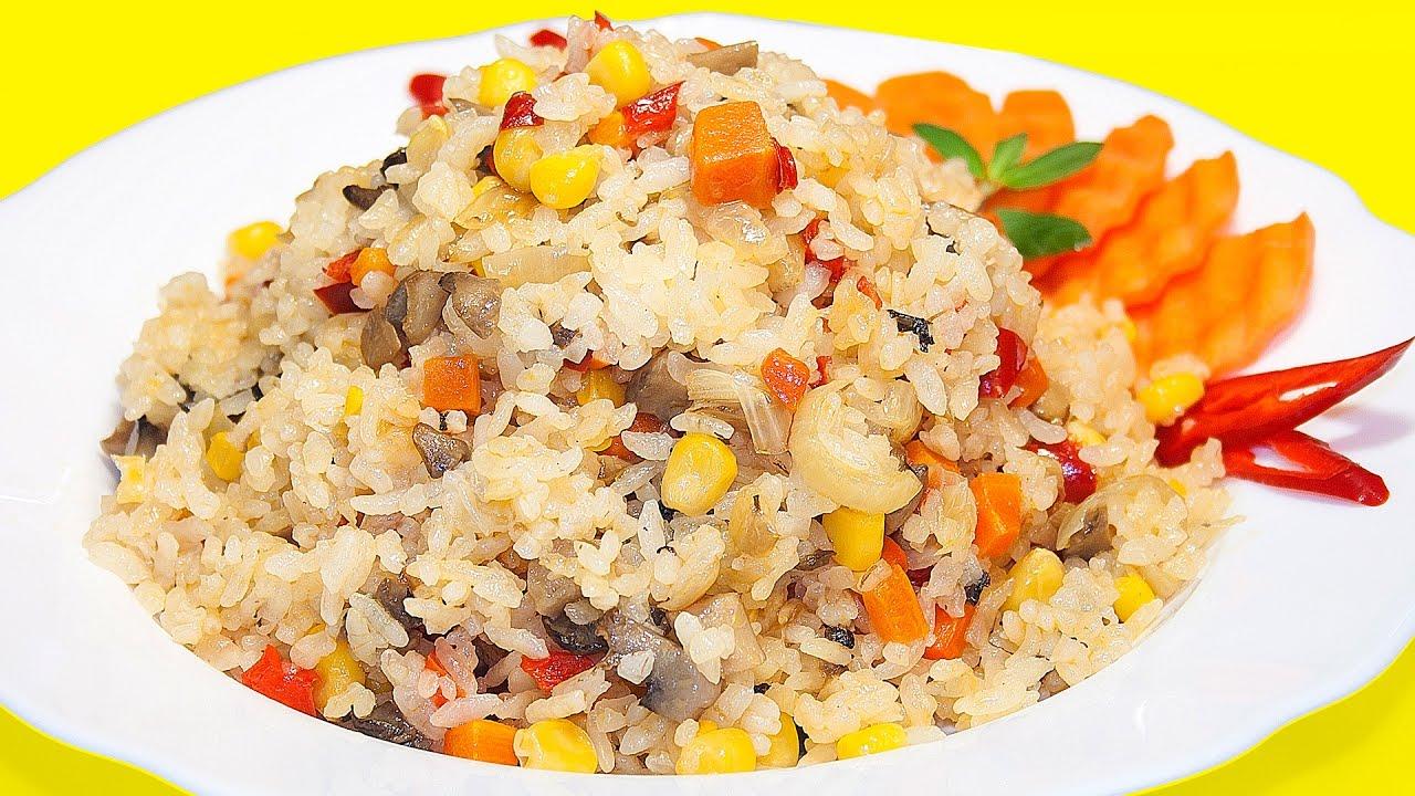 Как варить рис чтобы он был рассыпчатым рецепт пошагово в