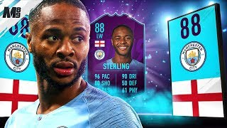 FIFA 19 POTM STERLING REVIEW | 88 POTM STERLING PLAYER REVIEW | FIFA 19 ULTIMATE TEAM