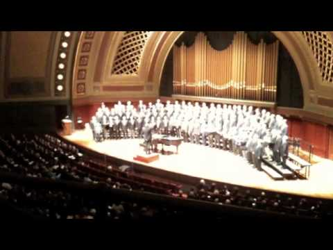 Brothers Sing On -- UMich Mens Glee Club Alumni 150th Anniversary
