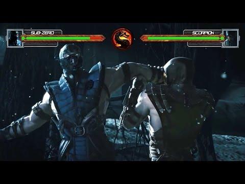 Mortal Kombat X Trailer With Life Bars!