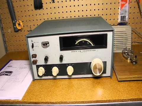 The Heathkit HW-16 CW Transceiver
