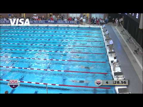 Women's 100m Butterfly B Final   2012 Columbus Grand Prix