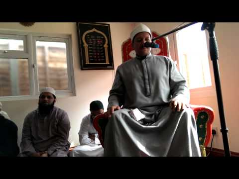1. Qari Yasir Abdul Basit Abdussamad @ Uxbridge Masjid 10/04/2013 part 1 of 3