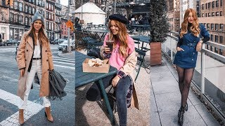 6 Winter Outfits I Wore in New York City