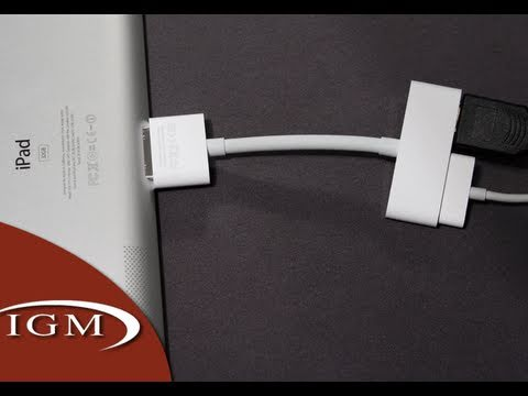 Apple Digital AV/HDMI Adapter for iPad 2, iPhone 4, iPad, iPod touch 4G (Review)