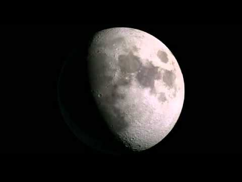 One Year of the Moon in 2.5 Minutes