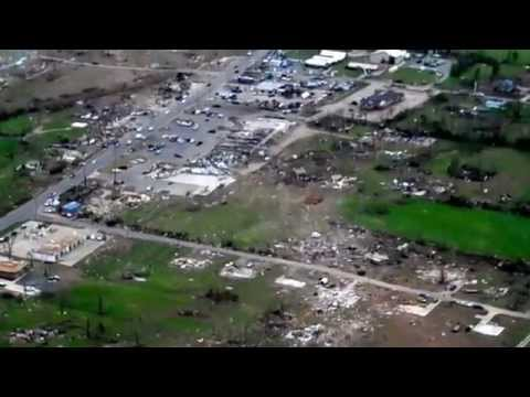 April 27, 2014 Arkansas Tornado Damage to Vilonia, AR