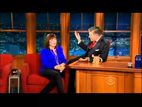 Craig Ferguson 5/2/12D Late Late Show Anjelica Huston