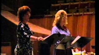 "Joan Sutherland rehearses ""Adriana Lecouvreur"" in Sydney in 1984"
