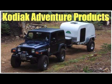 Kodiak Adventure Products - extreme teardrops :self reliance expo