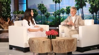 Mila Kunis on Being a New Mom