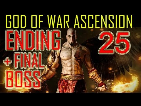 God of War Ascension - ENDING & FINAL BOSS battle HD ending god of war 4 ending part 25 PS3 ending God of War Ascension gow