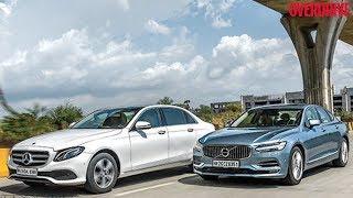 Mercedes-Benz E-Class E 220 d vs Volvo S90 D4 - Comparative Review