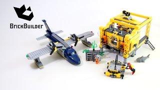 Lego City 60096 Deep Sea Operation Base - Lego Speed Build