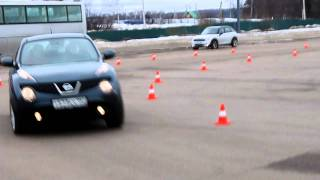 Тест Nissan Juke