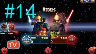 Angry Birds Star Wars 2 - Part 14 Rebels - Pork Side Gameplay Walkthrough