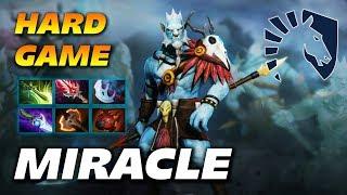 Miracle Phantom Lancer - Hard Game - Dota 2 Pro Gameplay