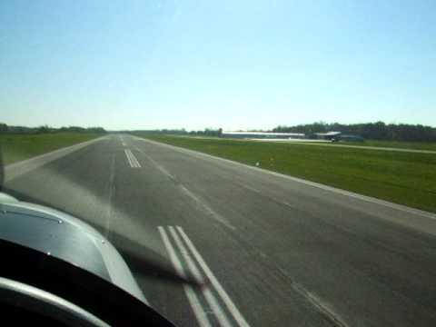 Landing the Sportstar at I76 (Peru, Indiana)