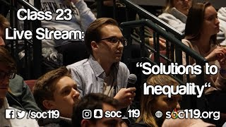 Solutions - Soc 119 Live Stream/Full Class Lecture