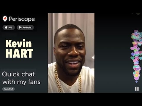 """KEVIN HART """"Quick chat with my fans"""" 