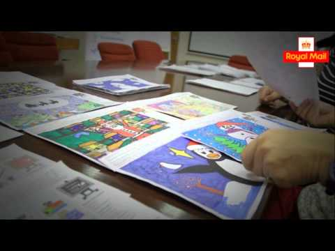 Royal Mail's Children's Christmas Stamp Design Competition