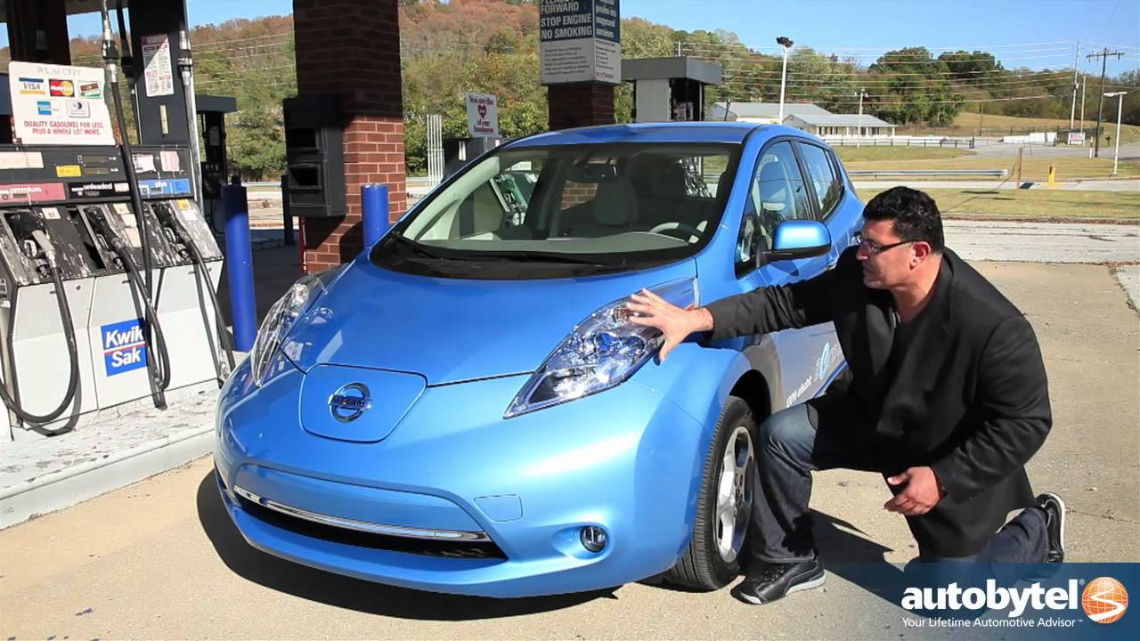 nissan leaf test drive electric car review youtube