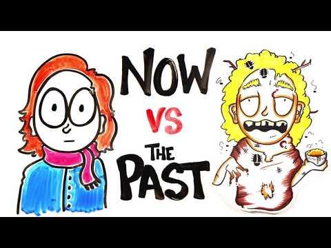 Жизнь сейчас и в прошлом [AsapSCIENCE]