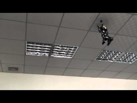 2 Channel Remote Control Helicopter, Fighting Robot, First Testing