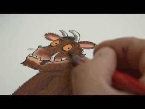 'A Gruffalo should look frightening but cute'