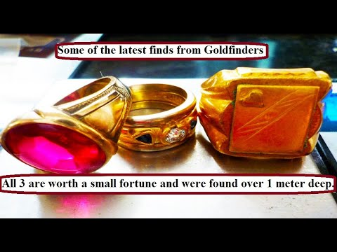 GOLD ON THE BEACH 10 (Antique Gold found. We show you how and where: Goldfinders Video)