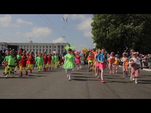 1 мая 2015 Крым, Симферополь - Первомайская демонстрация, шествие