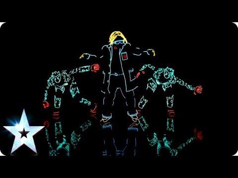 光とダンスの融合! 「Got Talent」 Light Balance その2