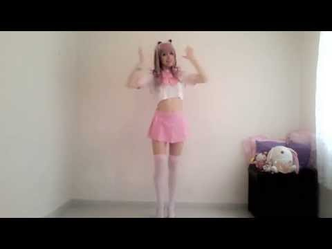 "Outfit video ""Kawaii, cosplay, pastel goth, lolita"" and a little dancing Maryan MG"