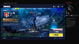 Aim for game on fortnight trying to get a high kill game
