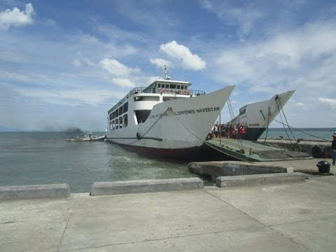 Philippines tourism - Port of Dumangas - Preparing for my motorcycle trip to Cebu Philippines