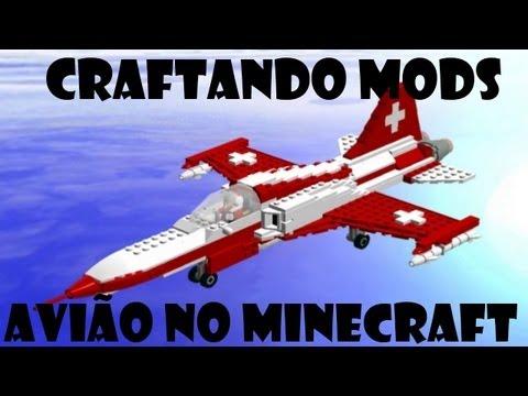 Craftando Mods #4 - Avião no Minecraft!! + Pasta .minecraft
