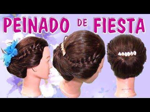 Peinado Recogido fácil elegante para primavera verano