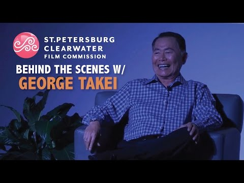 George Takei, Behind the Scenes, St. Petersburg Clearwater