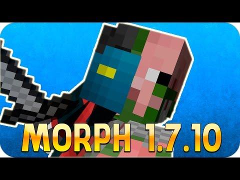 Como Instalar Mods no Minecraft 1.7.10 - Morph (Como escolher os mobs)