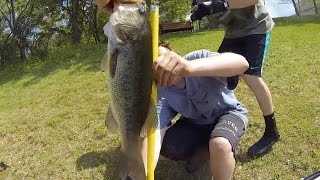 Super Fluke Pond Fishing with Two Subscribers in Baltimore MD