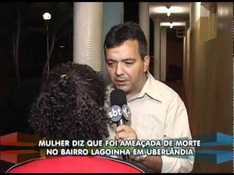 Homem ameaça mulher com arma de fogo no bairro Lagoinha