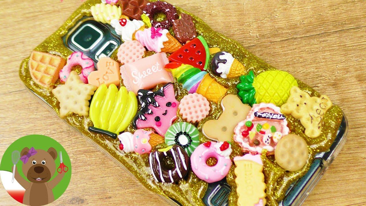 Etui na smartfona z figurkami Kawaii | słodkie i bardzo proste | Glitter Trend