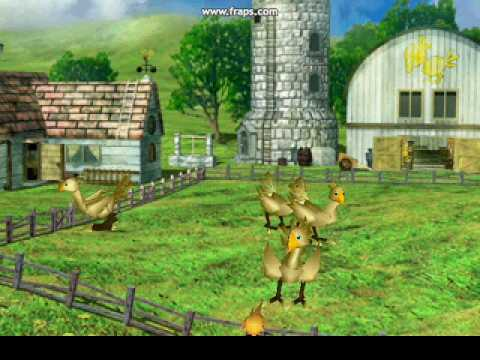 Misc Computer Games - Final Fantasy 7 - Electric De Chocobo