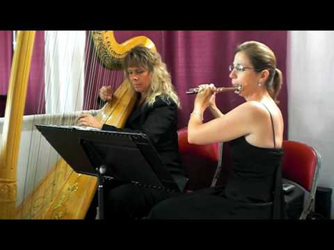 Canon in D, Harp and Flute, Lauren Erickson Music Videos