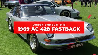 London Concours 2018.  A walk around the 1969 AC 428 Fastback
