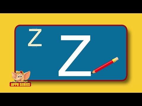 Learn Alphabets - Letter Z -FA2ZIcARWSo